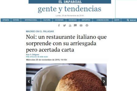 Noi en El Imparcial (20.11.2019)