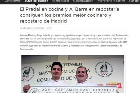 De las Cosas Del Comer (Mayo 2019)
